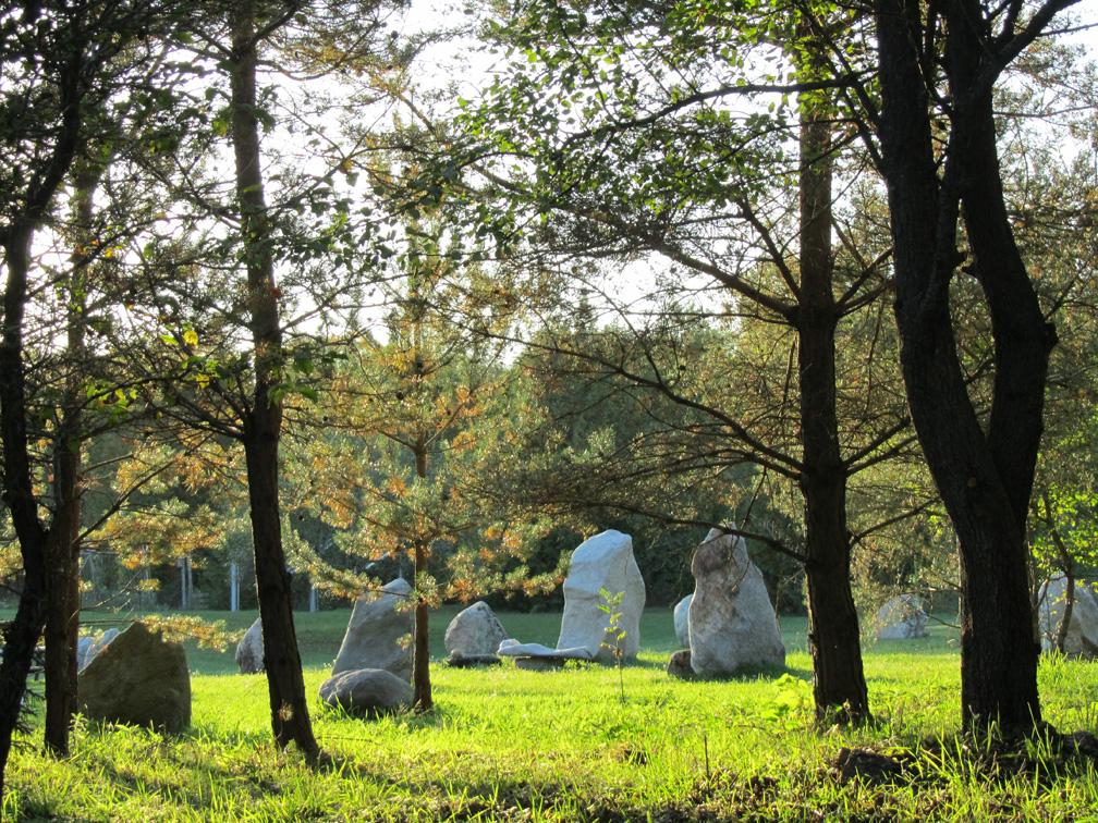 Stone Circle at Nature's Retreat