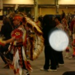 by Heather Hannan Archangel Gabriel brings the support of his ancestors and speaking truth to this Pow Wow participant