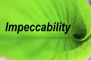 Impeccability