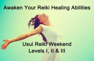 Usui Reiki Certification  – September