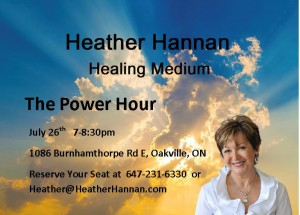 The Power Hour   Tuesday, July 26, 2016